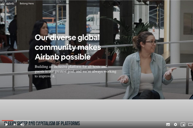 Pecorelle assonnate e capitalismo delle piattaforme: Airbnb durante il lockdown.