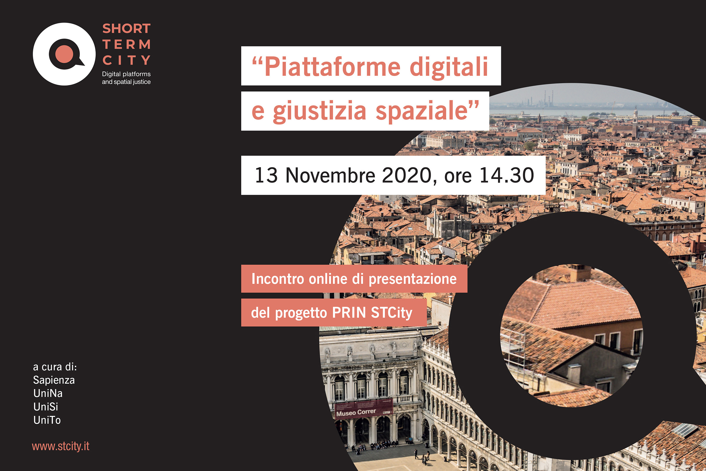 PRIN STCity | Project Meeting, 13 novembre 2020